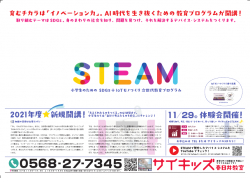 STEAM|広告|FC|春日井out ページ1